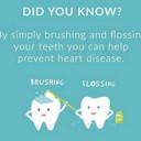 Brush teeth prevent heart disease