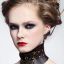 Girl-with-fancy-steampunk-collar-466x700