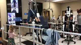 A Treatment Session With Cyberdyne's HAL Exoskeleton