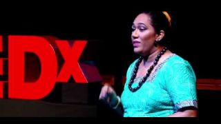 12:58 / 20:32 Tattoo and Tapa: Reclaiming Pacific Symbols | Frances C. Koya Vaka'uta | TEDxSuva