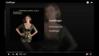 Penelope sings James Bond 007 Goldfinger - Celebrating 50 years of the James Bond